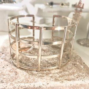Jewelry - Contemporary bracelet Sterling silver